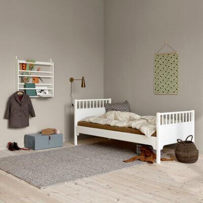 Oliver furniture Seaside Einzelbett 021215_091516 Tellerregal