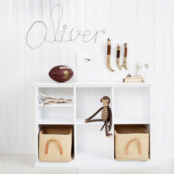 Oliver Furniture Regal niedrig 3 Fächer