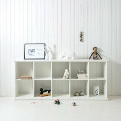 Oliver Furniture Regal niedrig 5 Fächer