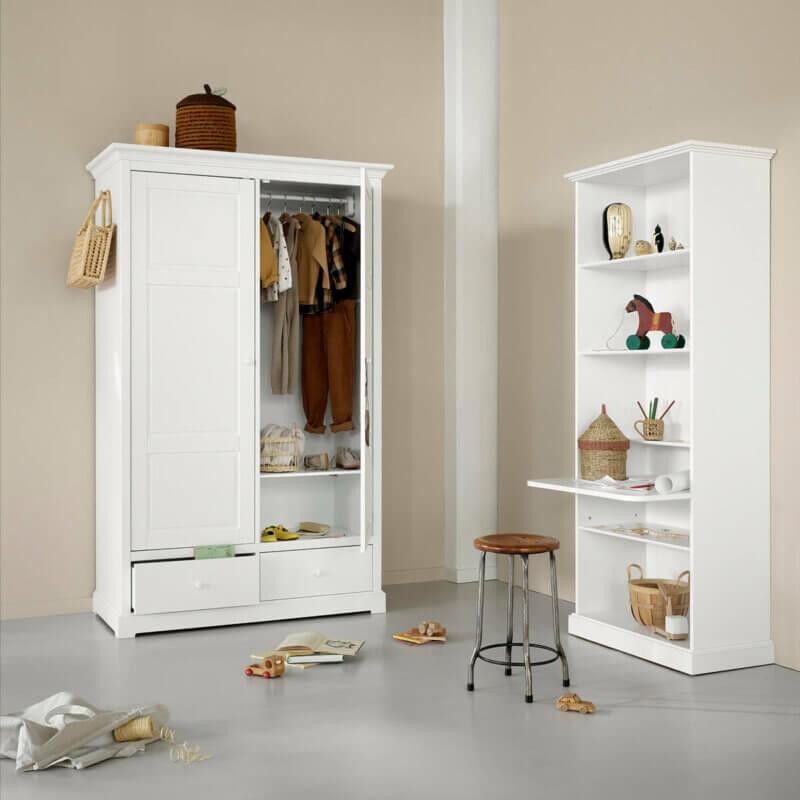 Oliver furniture Seaside Kleiderschrank 2-türig 021334_021323 Standregal gross