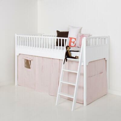 Oliver furniture Vorhangset Seaside rosa Streifen