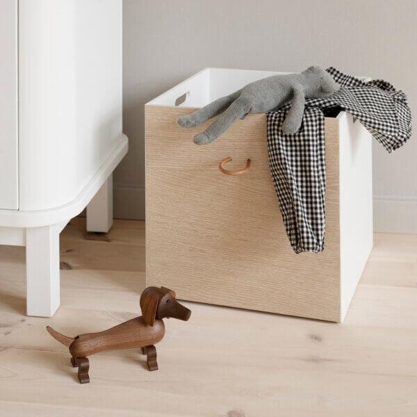 Oliver furniture Kisten weiss/Eiche