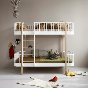 Oliver furniere Wood bunk bed 041413