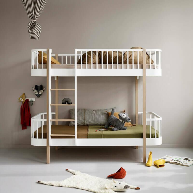 Oliver furniere Wood bunk bed 041413