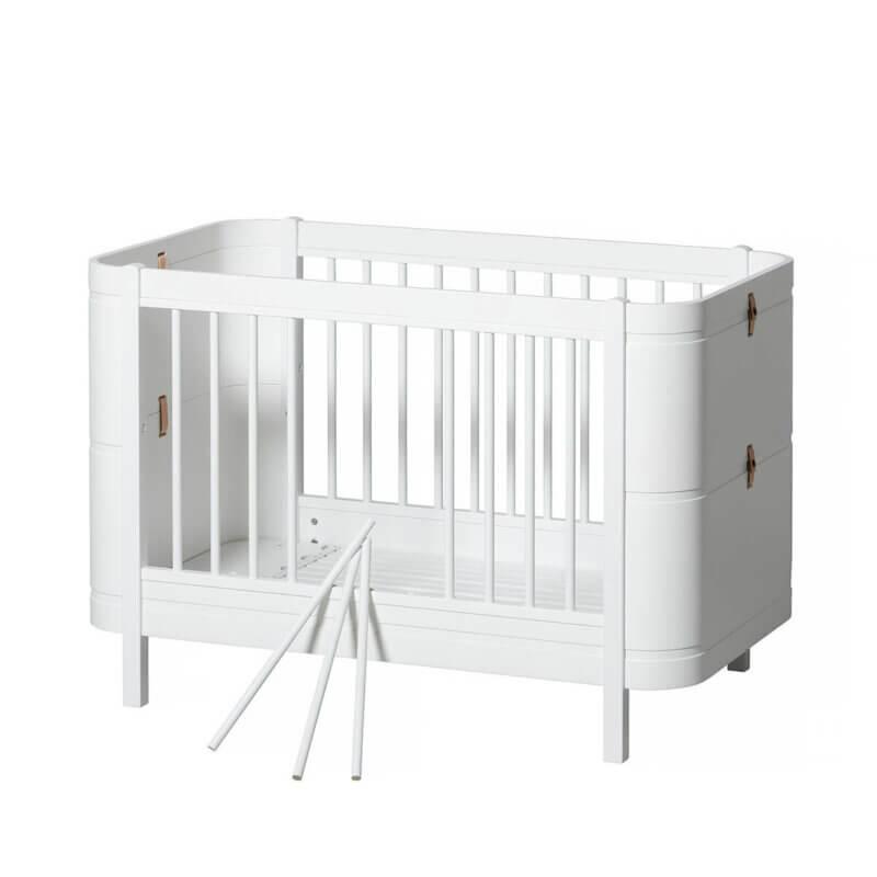 Oliver furniture Kinderbett mini+ weiss