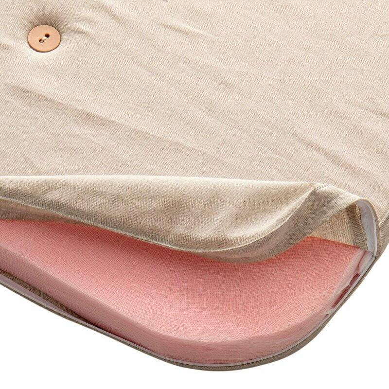 Oliver Furniture Spielmatratze Wood halbhohes Bett