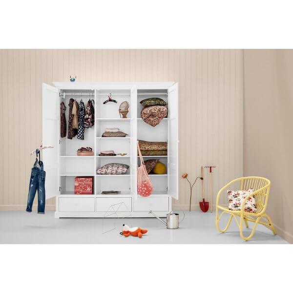 Oliver Furniture Kleiderschrank Seaside 3-türig