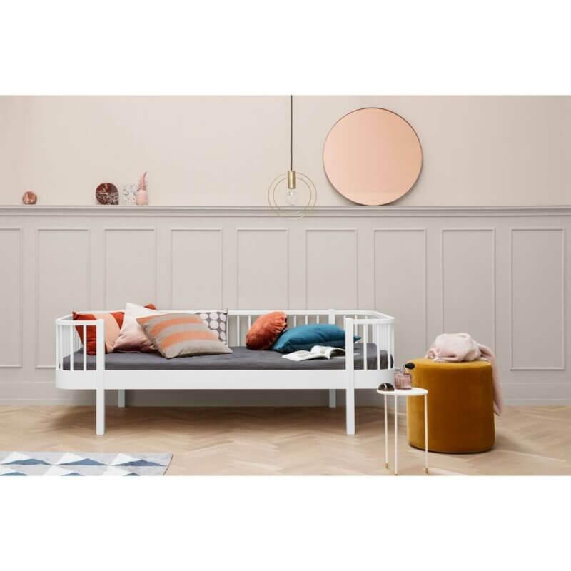 Oliver furniture Bettsofa Wood weiss