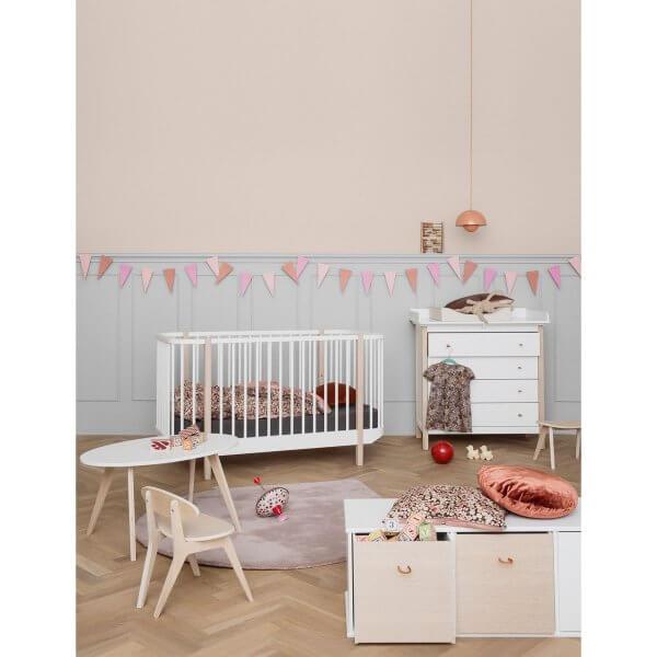 Baby- und Kinderbett Wood Eiche Ambiente