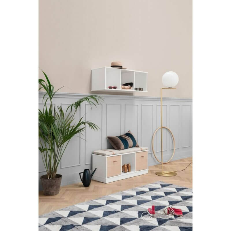 Oliver Furniture Regal 3 x 1 Wood