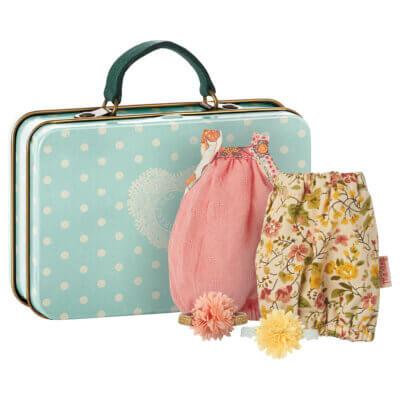 Maileg Koffer mit 2 Kleidersets_Web