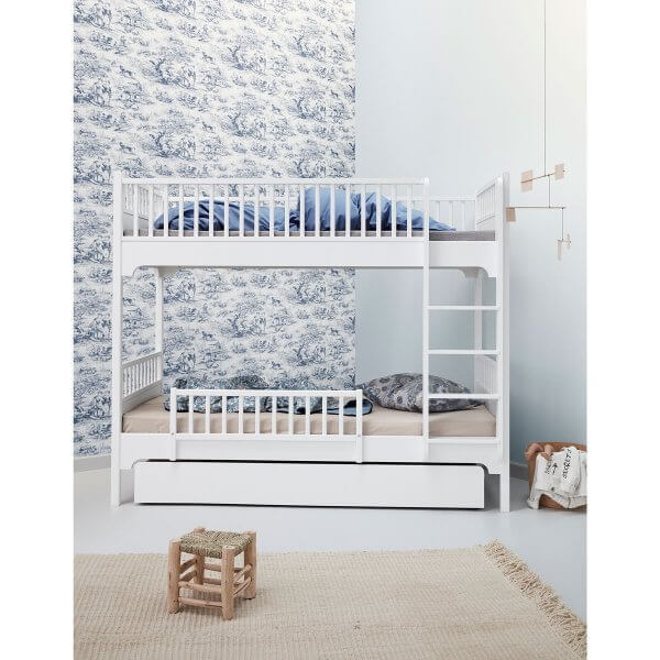 Oliver Furniture Etagenbett Seaside gerade Leiter