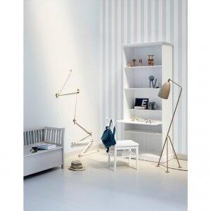 Oliver Furniture Standregal gross Seaside mit Schreibtischplatte