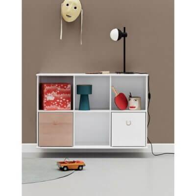 Oliver Furniture Regal 3x2 Wood hängend