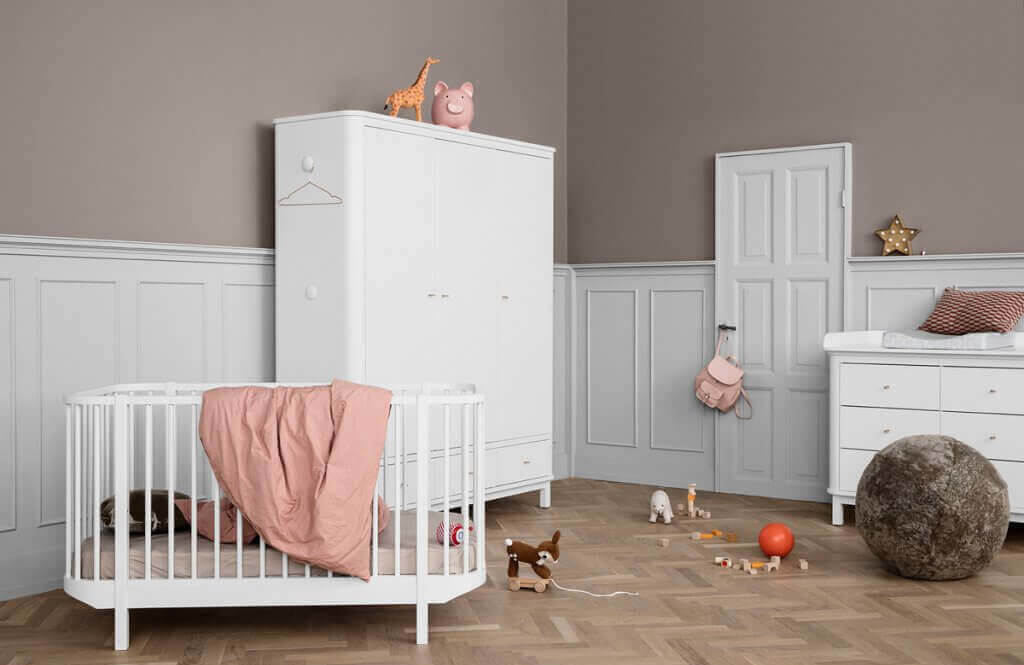 Oliver furniture Babyzimmer Wood weiss Hover