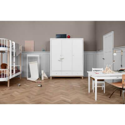 Oliver furniture Kleiderschrank Wood 3-türig Eiche