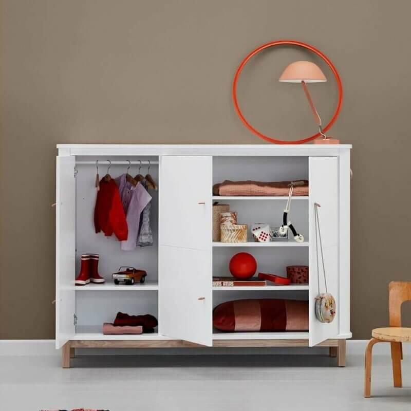 Oliver furniture Multischrank Wood Eiche offen