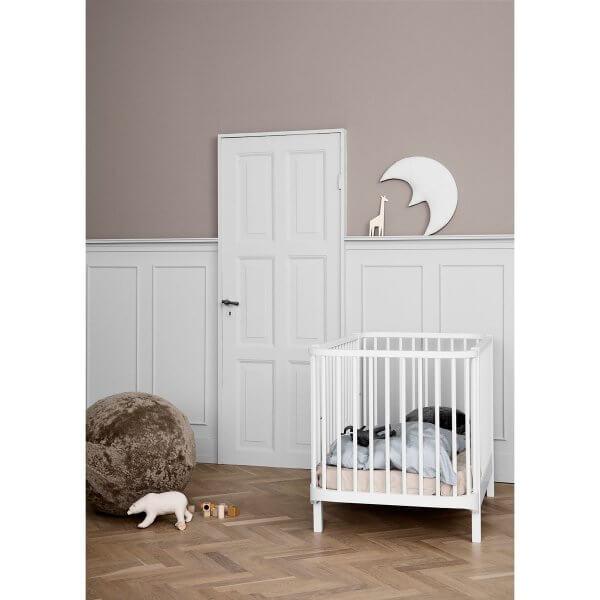Oliver Furniture Babybett Wood weiss