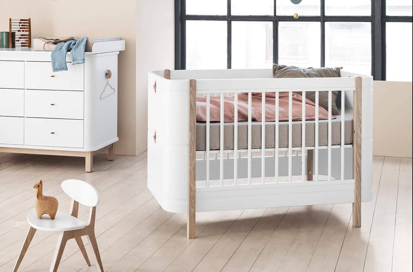 OLIVER FURNITURE Wood Mini+ Babybettwood