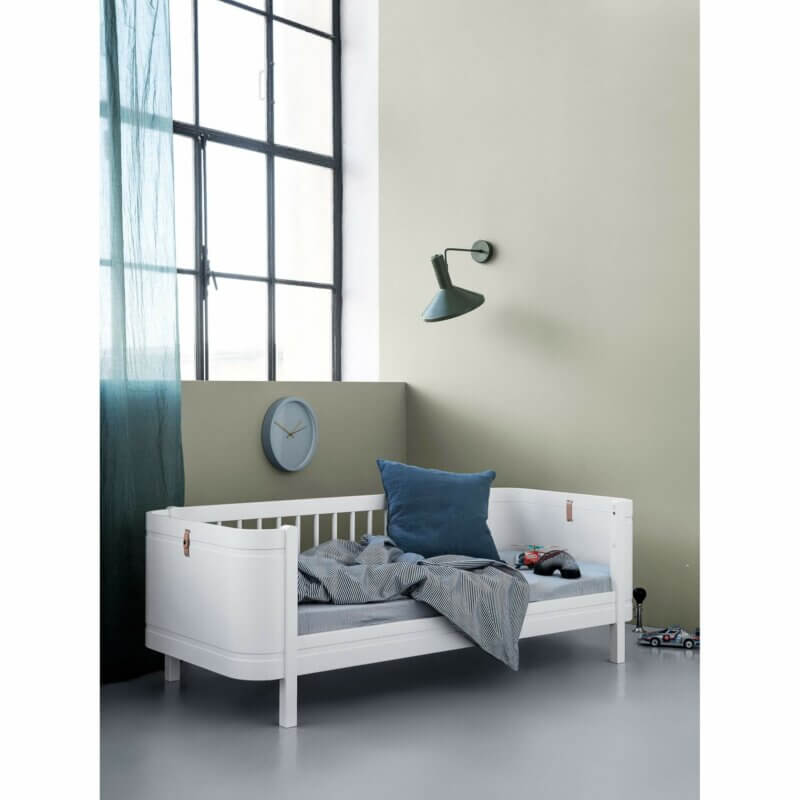 Oliver furniture Kinderbett mini+ weiss Tagesbett ohne Fallschutz