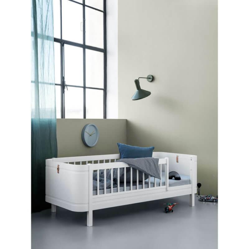 Oliver furniture Kinderbett mini+ weiss Tagesbett mit Fallschutz