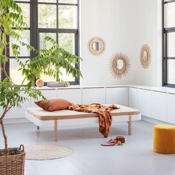 Oliver Furniture Wood Lounger 120, Füsse Eiche