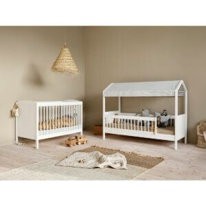 Oliver furniture Lille+ basic Kinderbett und Juniorbett mit Himmel