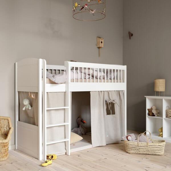 Oliver furniture Lille+ halbhohes Hochbett