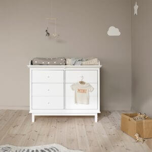 Oliver Furniture Wickelkommode Seaside 6 Schubladen