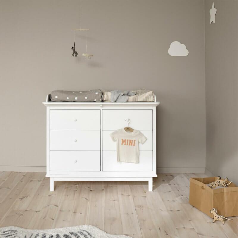 Oliver Furniture Wickelkommode Seaside 6 Schubladen