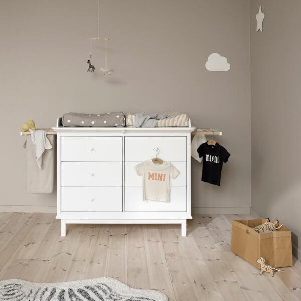 Oliver Furniture Wickelkommode Seaside 6 Schubladen mit Auszügen