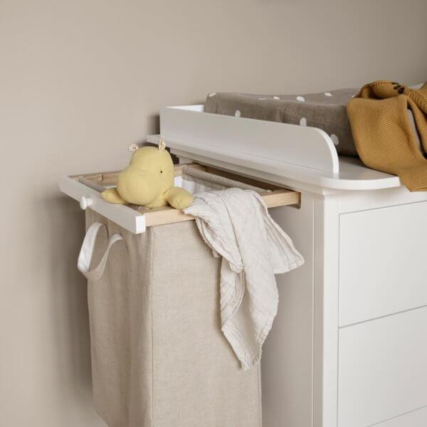 Oliver Furniture Wickelkommode 6 Schubladen, Auszug Wäschesack
