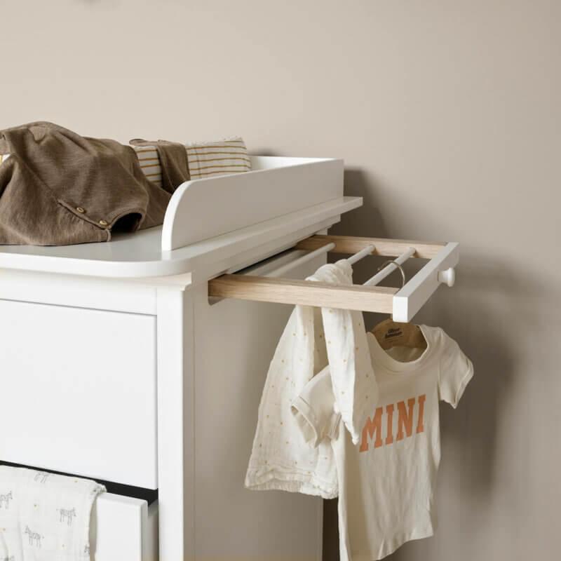 Oliver Furniture Wickelkommode Seaside 6 Schubladen, Auszug Gitter
