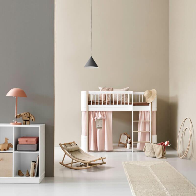Oliver furniture 041447 Wood mini low loft bed_041630