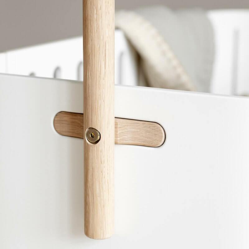 Oliver furniture Vorhangstange Beistellbett Wood