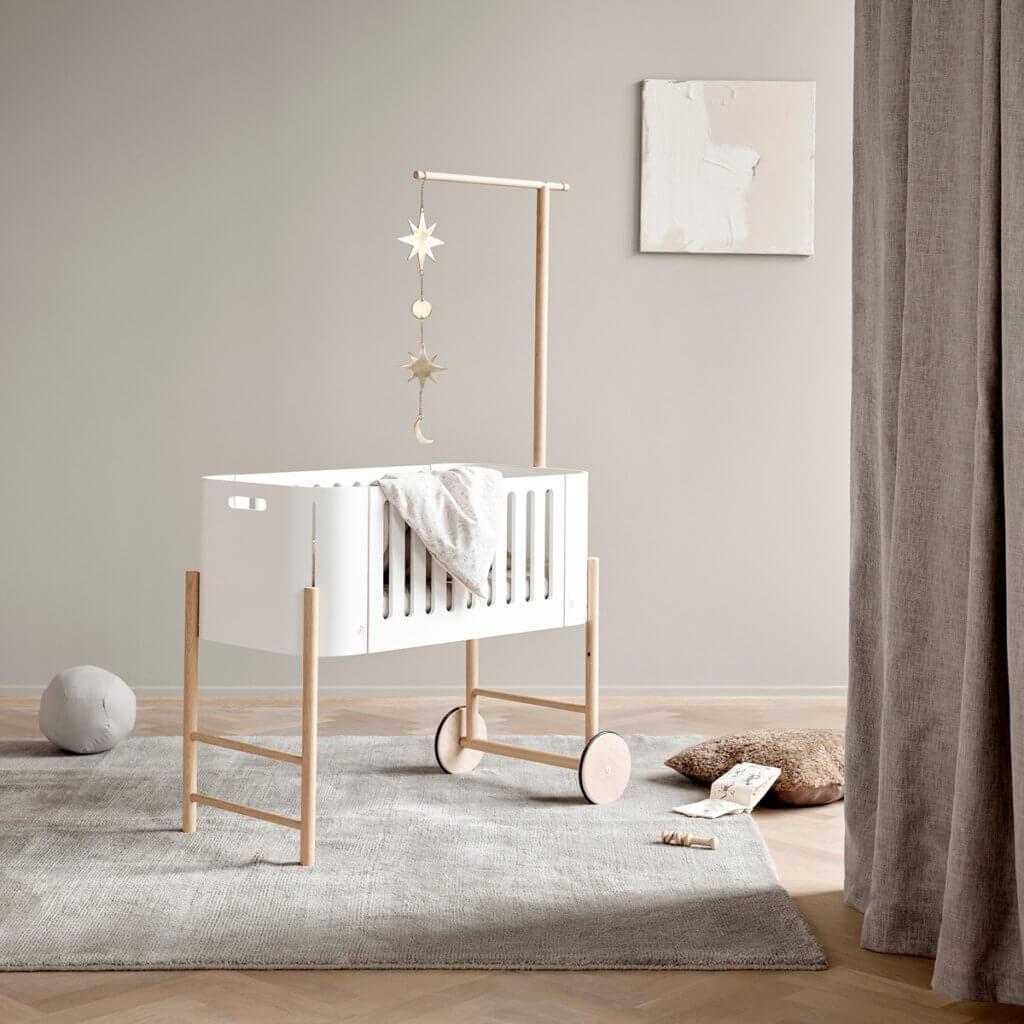 Oliver furniture Beistellbett Wood