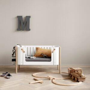 Oliver furniture Beistellbett umgebaut zur Sitzbank