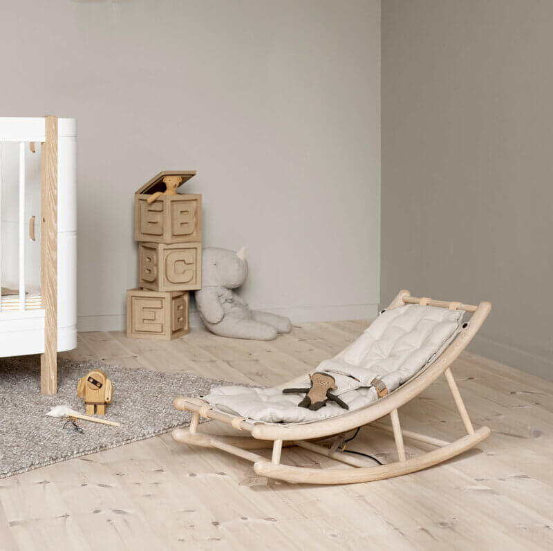 Oliver furniture 041614 Baby-/Kinderwippe natur
