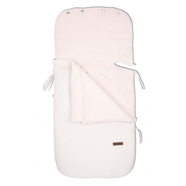 Fußsack für Babyschale 0+ Klassisch Klassisch rosa