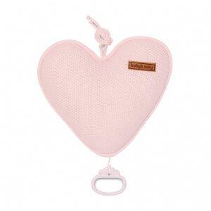 Spieluhr Herz klassisch klassisch rosa Vorderseite