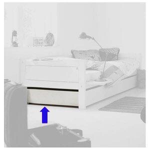 Lifetime Abdeckplatte für Basisbett 90 x 200