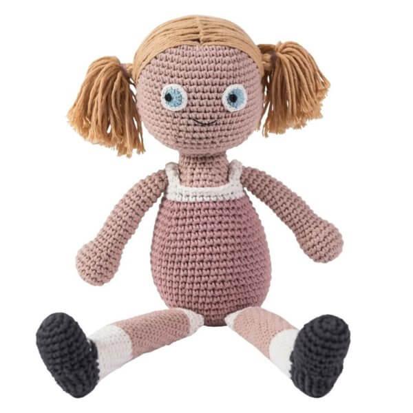 Sebra Puppe Rosa