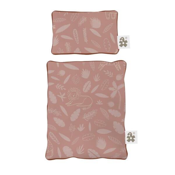 Sebra Bettwäsche Wildlife rosa