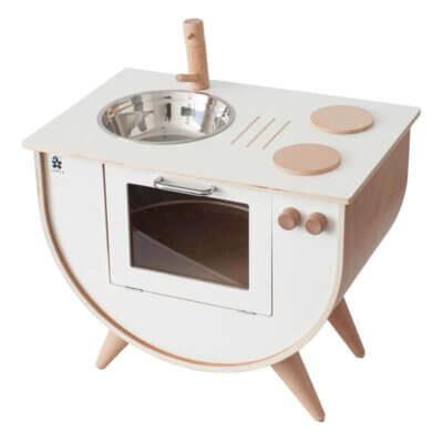 Sebra Spielküche weiss/Holz_Web