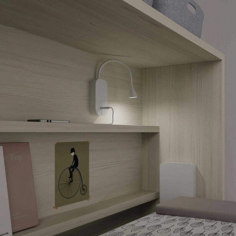 Jotajotape NEST Jugendzimmer mit Beleuchtung - Nr. 43