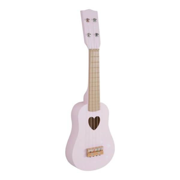 Little Dutch Gitarre rosa