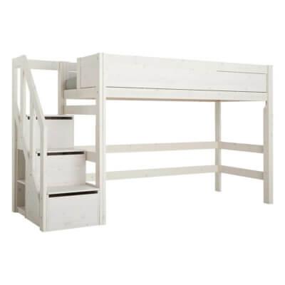 Lifetime Mittelhochbett mit Treppe