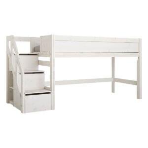 Lifetime halbhohes Bett mit Treppe