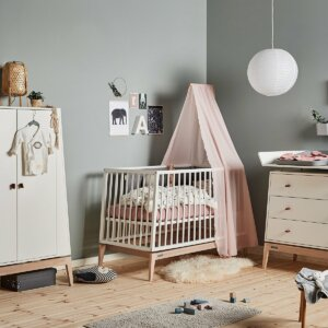 Leander Luna Babybett weiss 120_Web
