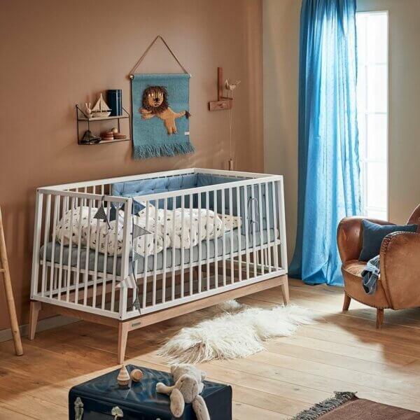 Leander Luna Babybett 140 weiss_Web